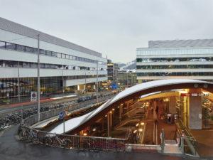 Bahnhofsüberführung Welle