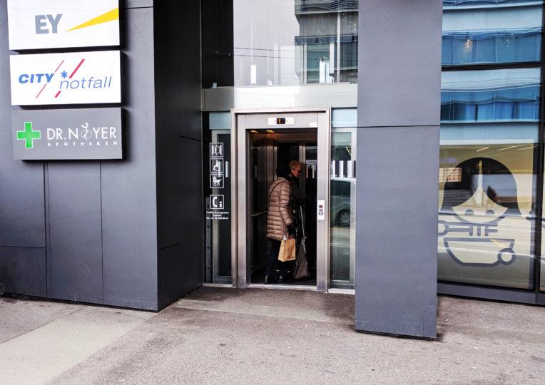 Lift Schanzenstrasse